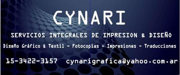 Cynari - imprenta y diseño gráfico integral