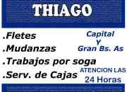 FLETES Y MUDANZAS THIAGO