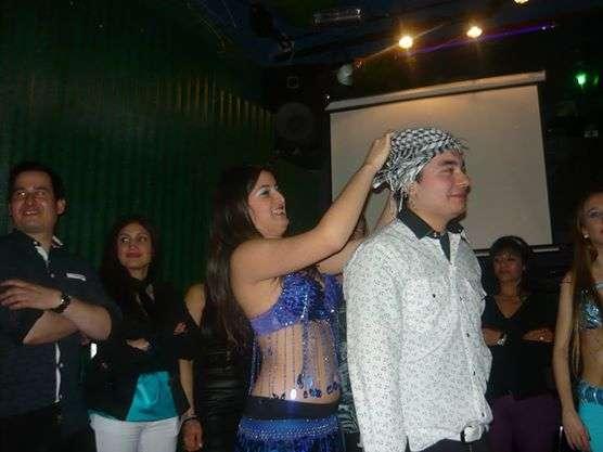 Show de danzas arabes zona sur odaliscas
