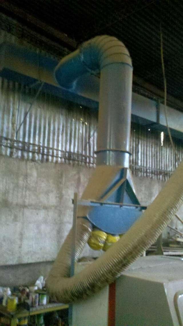 Extractor de virutas para carpinterias