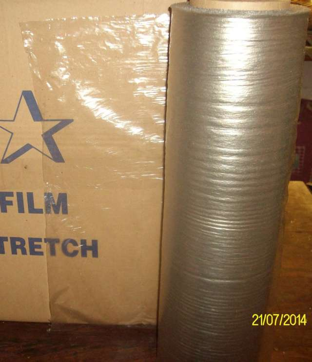 Filmsstretch recuperado 50cm $22.50c/ k
