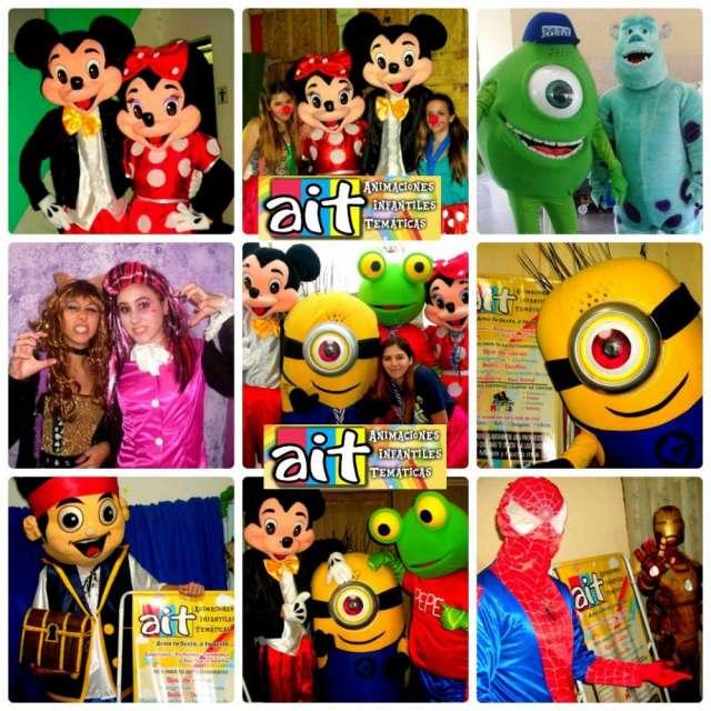 Show y animaciones infantiles. mickey minie, sapo pepe , minion y muchos mas!