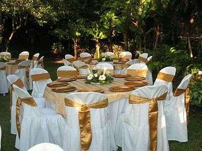 Menú formal para casamientos o quince años