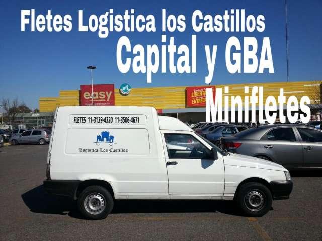 Mini fletes 1131394320 belgrano capital