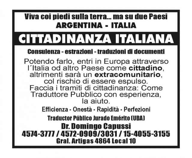 Obtenga la ciudadania italiana