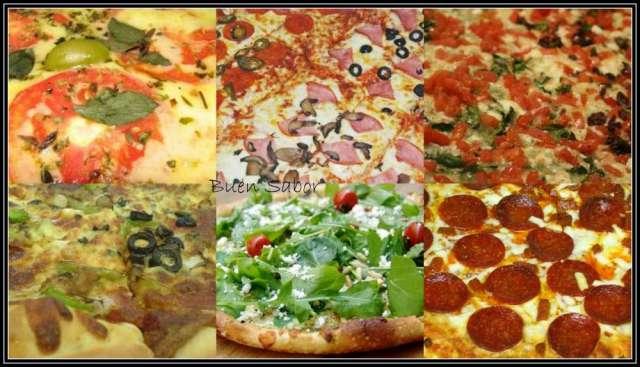 Pizza party para comuniones