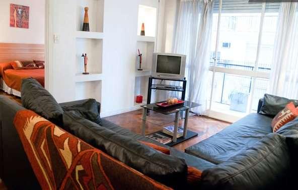 Alquiler apartamento amoblado en el centro de buenos aires, a metros galerías pacífico
