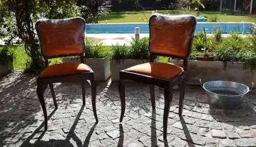 Bellisimo juego de sillas de estilo