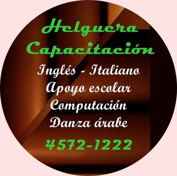 Inglés - italiano - clases particulares en villa pueyrredón