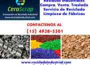 Rezagos y Residuos Industriales venta compra zona Tigre Contactese (15) 4928-5301