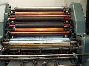 Vendo impresora off set solna 124