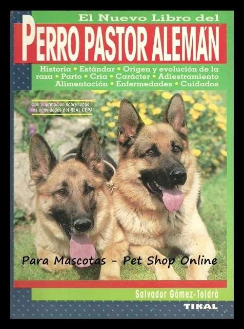 El nuevo libro del perro pastor aleman . edicion española