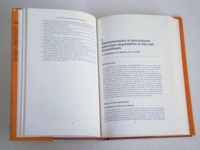 Fotos de Acido biliar en enfermedades hepatobiliares. paumgartner. 4