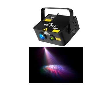 Fx chauvet eclipse dual laser + led