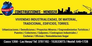 Construcciones mendoza. [new!]