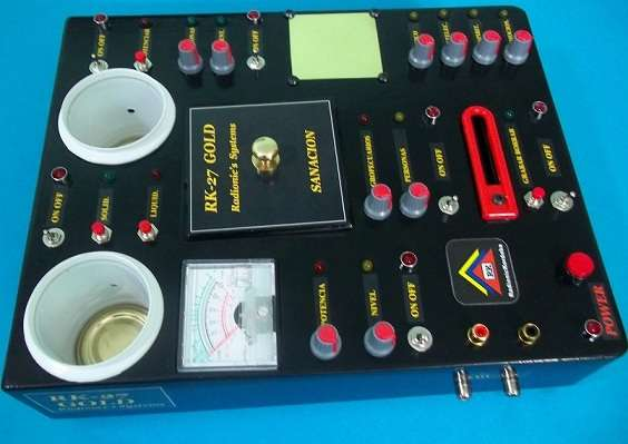 Psicotronica, radionica. maquina rk-27 gold. homeopaticos, tarjetas