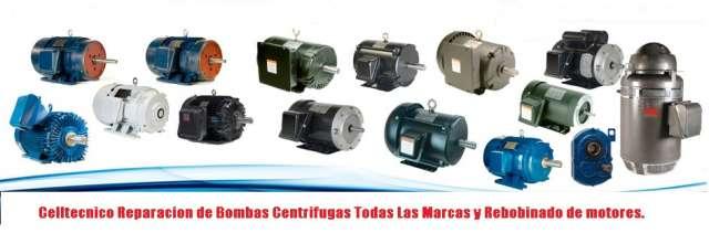Reparación de bombas centrifugas todas las marcas y modelos.