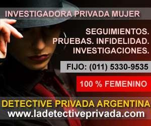 Detective privado femenino 011-15-3911-3861