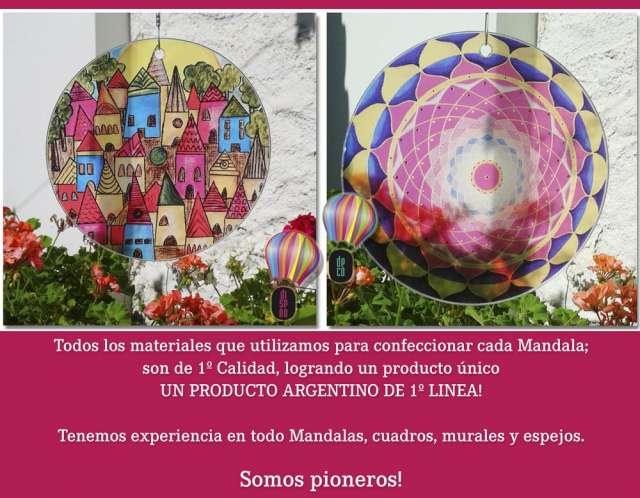 Mandalas colgantes - hiperenergeticos ? new vitro ? el globo! 3548-437665/86