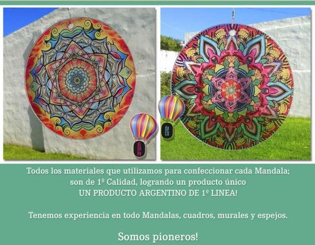 Mandalas colgantes - hiperenergeticos ? new vitro ? el globo! 3548-437665