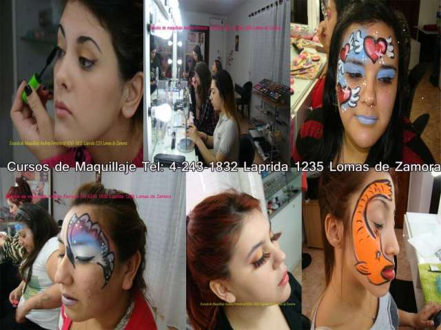 Curso de maquillaje social, artistico,automaquillaje, maquillaje profesional,maquillaje infantil