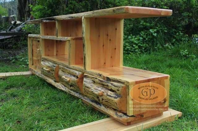 Fabrico Muebles Rusticos En Lago Puelo Muebles 921830 - Fotos-muebles-rusticos