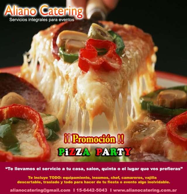 Servicio de catering pizza party barra movil zona norte pilar martinez 4383-7876 / 15-6442-5043