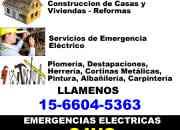 Problemas electricos urgencias en ituzaingo telef…