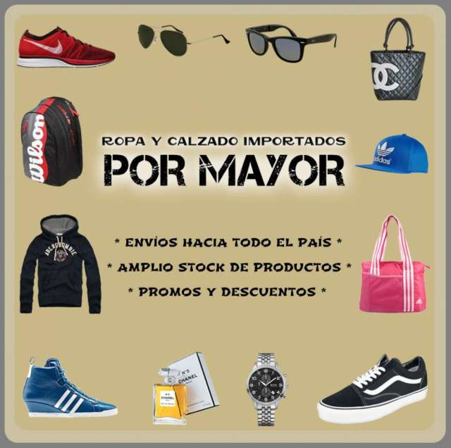 dd2e1a91 Ropa zapatillas accesorios de moda por mayor en Caballito - Ropa y ...