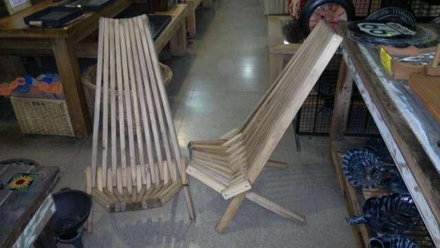 Reposeras plegables de madera