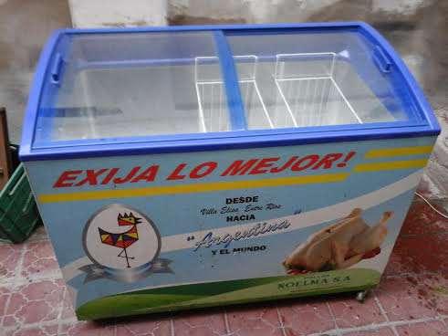 Freezer comercial inelro fih-350 pi