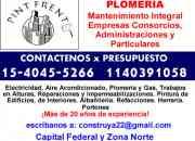 Plomeria - gas - perdidas e instalaciones zona boedo llamenos *15 4045 5266*