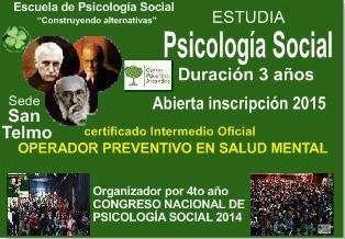 Psicología social 2015