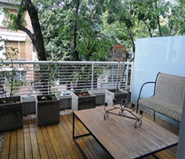 2 amb - costa rica y dorrego - loft c/balcón terraza con parrilla, c/piscina, sum, lavarropas