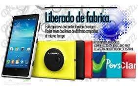 Celular lumia 1020 3g generico whatsapp android 4.4 wifi nuevos