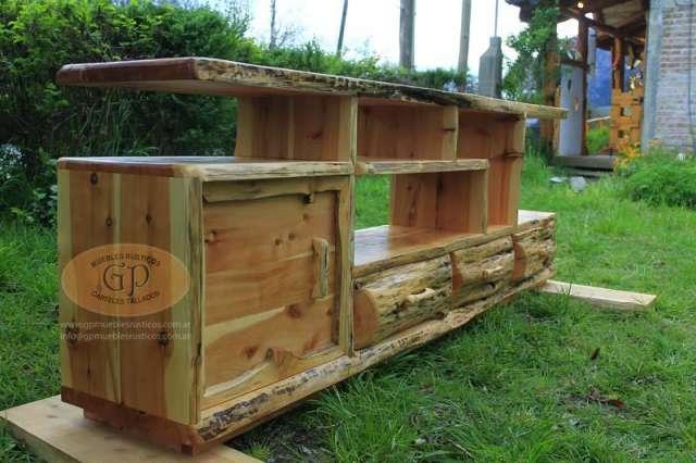 Muebles Rusticos A Medida En Lago Puelo Muebles 927014 - Fotos-muebles-rusticos