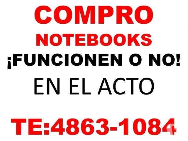 Compra-venta -net notebooks y macbooks ¡funcionen o no!, te:4863-1084