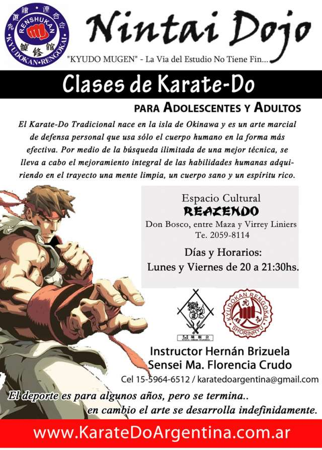 Clases de karate-do en almagro