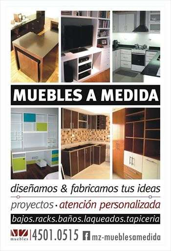 Muebles a medida / cocinas, placards, livings