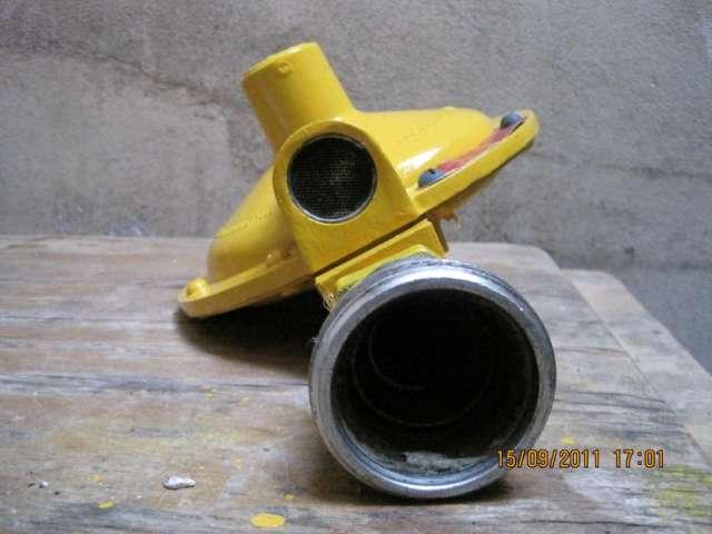 Regulador de gas natural marca aguty de 50m3