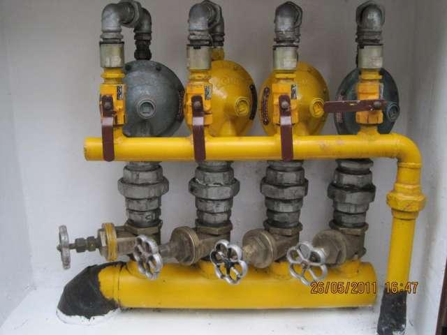 Instalaciones de reguladores de gas natural