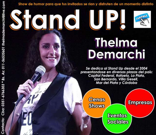 Stand up thelma demarchi