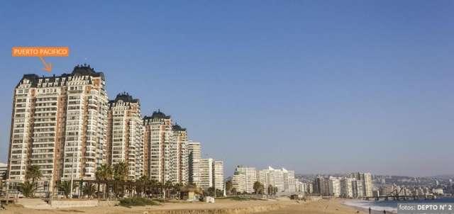Arriendo viña puerto pacifico, 4 dormitorios, frente playa, piscinas