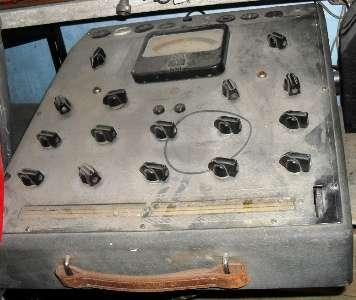 Probador de válvulas de radio mas 80 años antigüedad ? ideal coleccionistas $ 700.-
