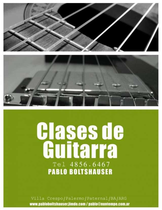 Clases de guitarra en capital federal