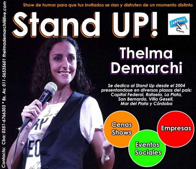 Thelma demarchi comediante