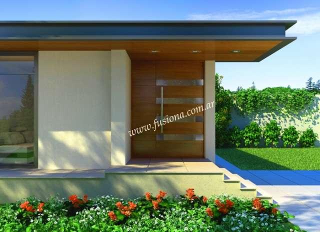 Puertas modernas de entrada