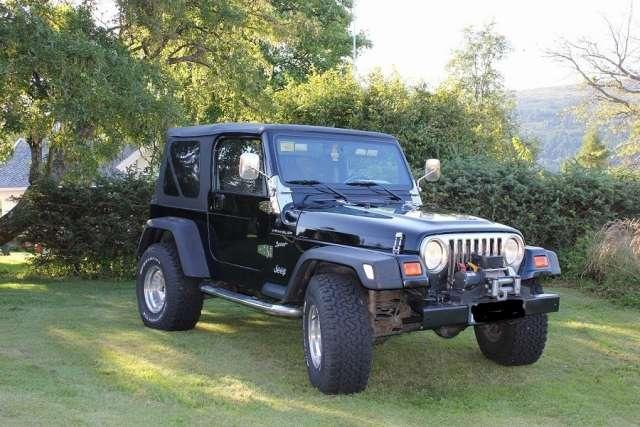 Jeep wrangler sport 2,5