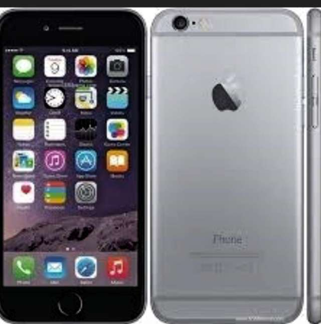 Vendo iphone 6plus liberado gris sin accesorios