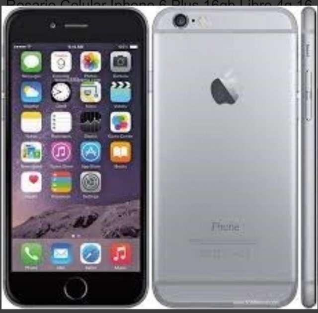Vendo brillante iphone 6 plus gris liberado . sin accesorios